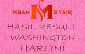 Result Washington Hari Ini Tercepat - Live Washington Pools 4D