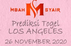 Kode Syair Los Angeles 26 November 2020 Hari Kamis