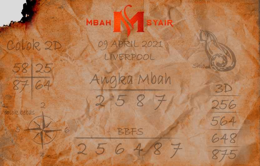 Liverpool Liverpool L Poet Code 9 April 2021 Jumat