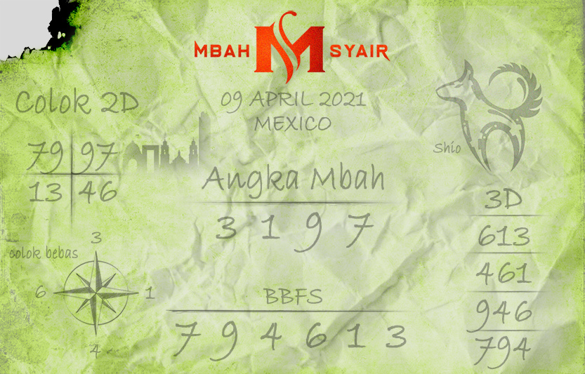 Mexican Poetry Code April 9, 2021 Friday