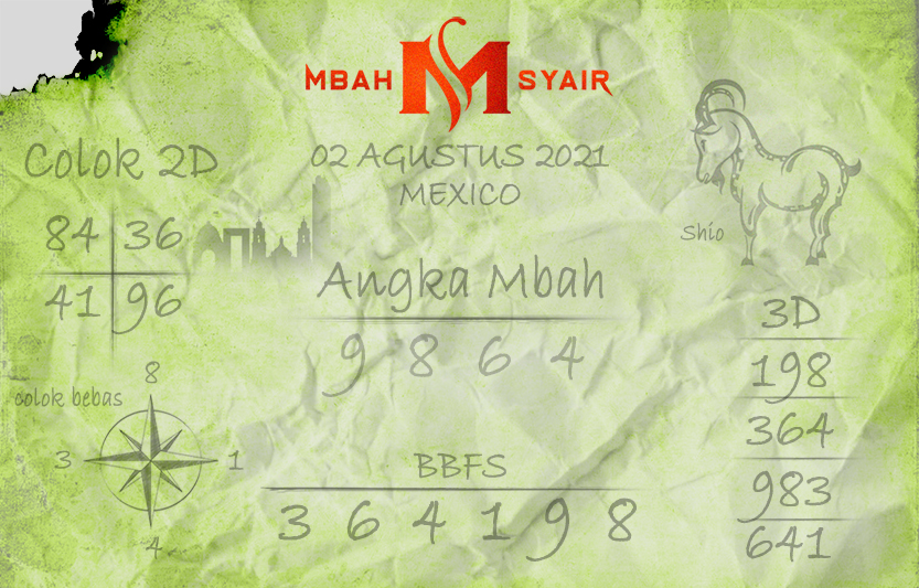 Mexican Poetry Code August 2, 2021 Monday